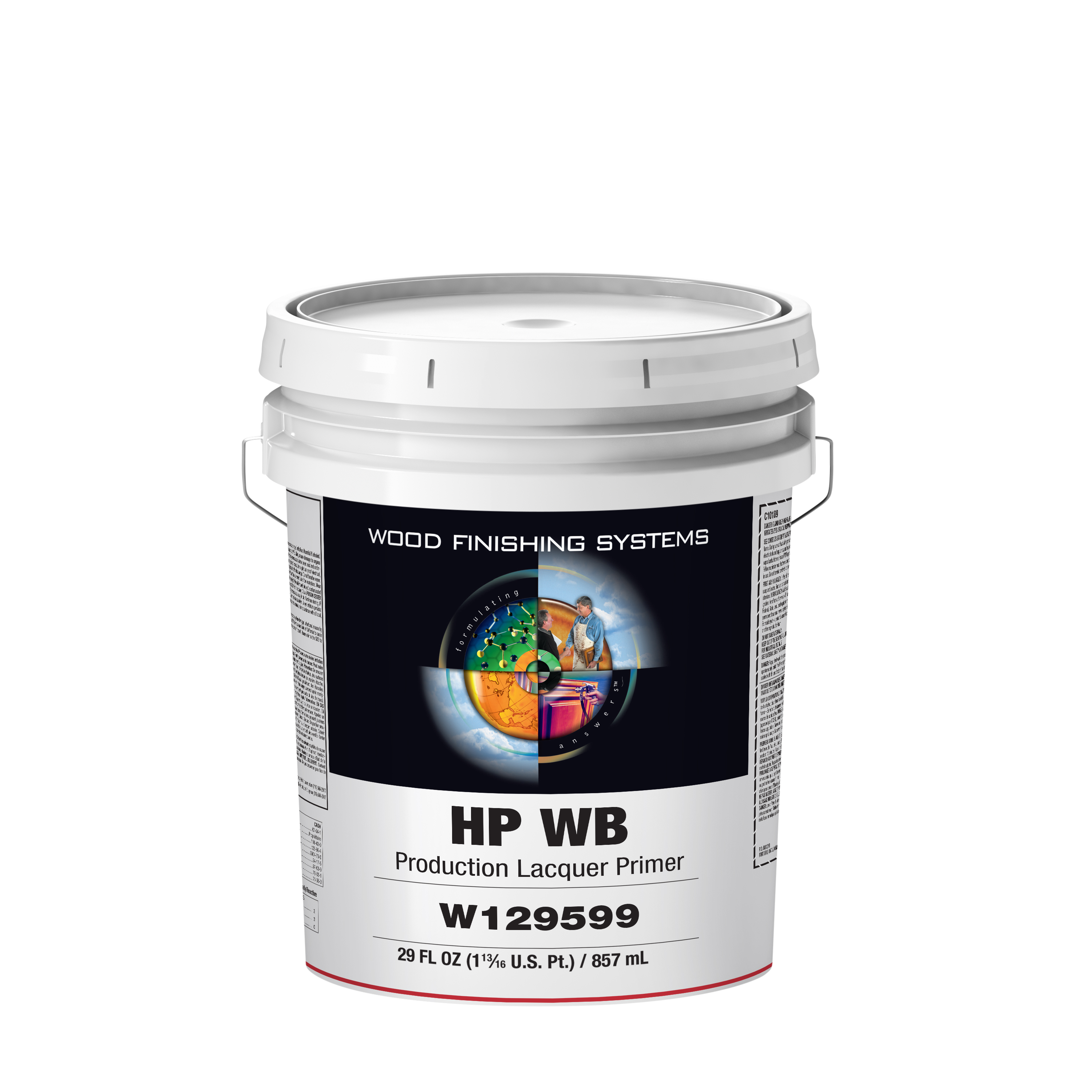 HP WB Production Lacquer Primer - M L  Campbell