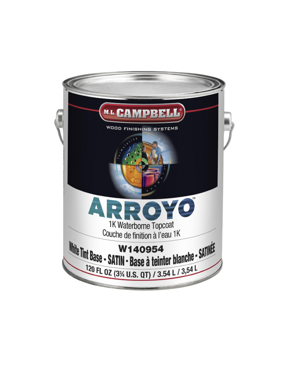 ARROYO™  1K Waterborne Topcoat