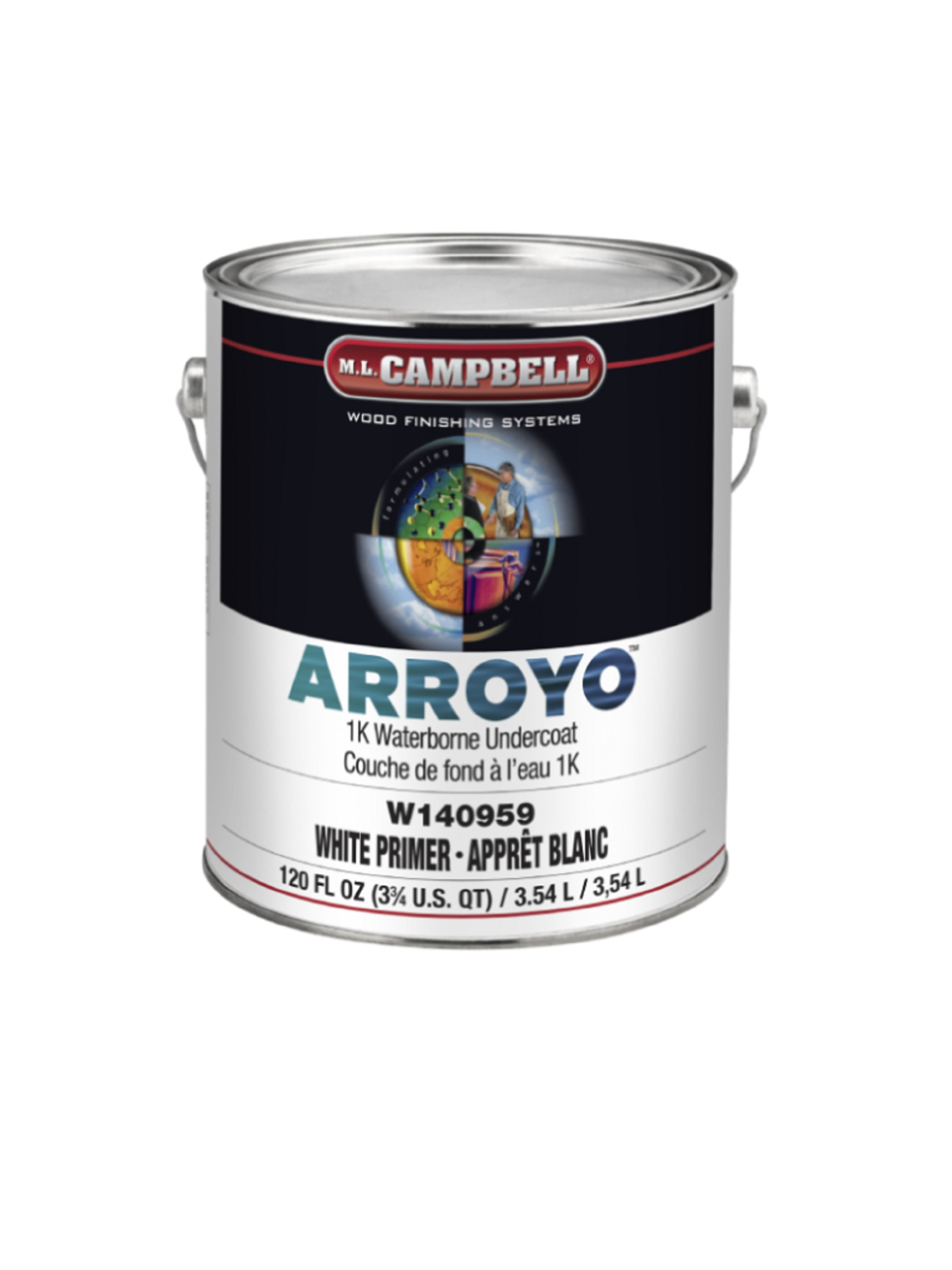 ARROYO™  1K Waterborne Topcoat